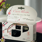 Cherry Blossom Single Use Spring Wedding Favour Camera