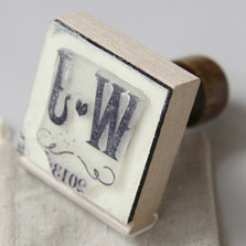 Personalised Vineyard Rubber Stamps