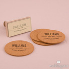 Bistro Bliss Custom Name Rubber Stamps