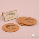 Feather Whimsy Personalised Rubber Stamps