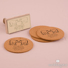 Woodland Style Bears Personalised Rubber Stamps