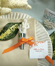 """Coral Bottle Stopper with Gift Packaging"""