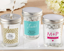 Mason Jar Wedding Favors (Personalisation Available)