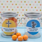 Personalised Christening Gifts Mini Paint Can Mint Tin