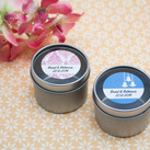 Personalised Wedding Bombonniere 2 Oz Tin