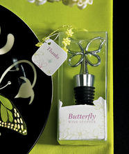 """Butterfly Wine Bottle Stopper Wedding Favour """