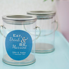 Personalised Wedding Mini Paint Can Mint Tin Bomboniere-Eat, Drink & Be Married