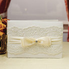 """Beverly Clark FrenchLace Collection Guest Book"""