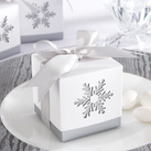 "Kate Aspen """"Winter Dreams"" Laser-Cut Snowflake Favour Box (Set of 24)"""