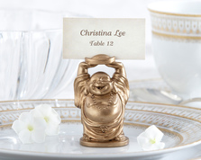 "Kate Aspen """"Laughing Buddha"" Place Card Holder (Set of 4)"