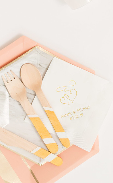 http://www.weddingfavoursaustralia.com.au/products/set-of-100-double-hearts-personalised-napkins