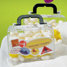 """(Set of 6) Miniature Travel Suitcase Wedding Favour Containers"""