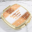 Personalised Gold Compact - Copper Foil