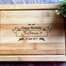 Personalized Serving Board, Custom Presentation Serving Board - Birthday Gift