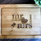Personalized Serving Board, Custom Presentation Serving Board - Wedding Gift