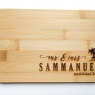 Personalised Board - Wedding Gift, Gift for Bride and Groom (Palm tree design)